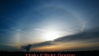 preview picture of video 'Halo Effekt Sonne + Sonnenuntergang ~ 28.12.2012 Leipzig ~ HD ~'