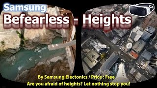 Samsung BeFearless - Heights in VR 3D. Are you dare? Combats fear of heights