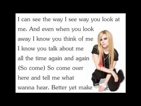 Avril Lavigne - Girlfriend [Lyrics/Letra]
