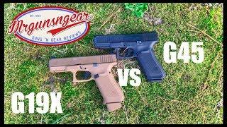 Glock 19x vs Glock 45: Which Gen 5 Pistol Should You Get?