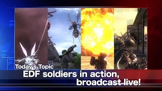 EARTH DEFENSE FORCE 4.1 The Shadow of New Despair video