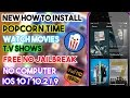 How To Install PopCorn Time & Watch Movies/T.V Shows  iOS 10/9 iPhone/iPod/iPad