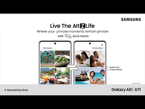 Live the Alt Z Life! New privacy features that make Galaxy A71 & Galaxy A51 even more awesome