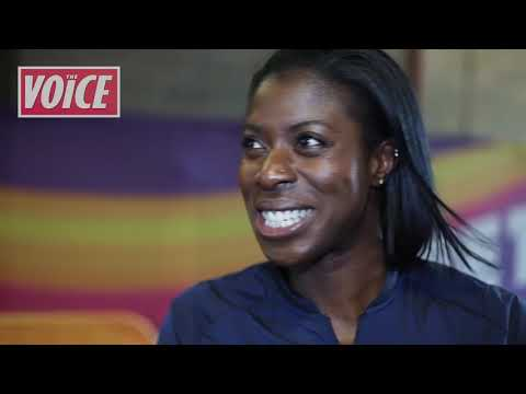 Christine Ohuruogu recieves medals denied to her by dopers