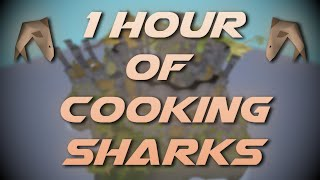 Cooking Raw Sharks | Testing OSRS Wiki Money Making Methods