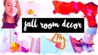 DIY//fall room decor // осенний декор комнаты //milenacay