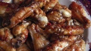 Рецепт куриных крылышек
