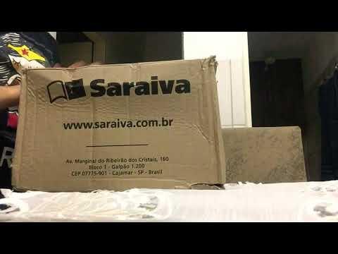 UNBOXING PROMOÇÃO SARAIVA - LIVROS DE 3,00 REAIS #1
