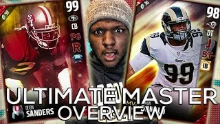 NEW ULTIMATE MASTER SETS!! 100 OVERALL DEION SANDERS! MUT 17 PACK OPENING | Madden 17 Ultimate Team