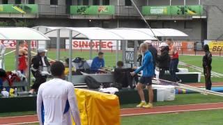 WJCH Eugene Decathlon - Jan Dolezal Pole Vault 420cm