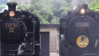 D51200+C56160重連 SLやまぐち号 2018.5.5