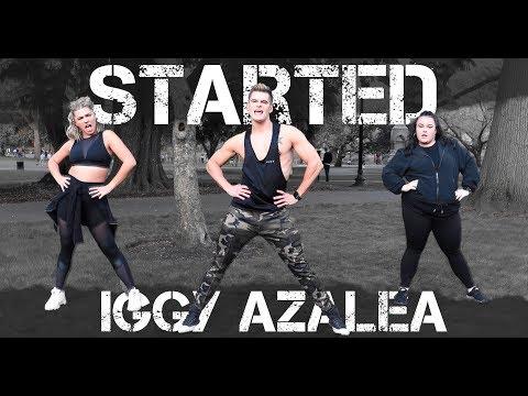 Started - Iggy Azalea | Caleb Marshall | Dance Workout