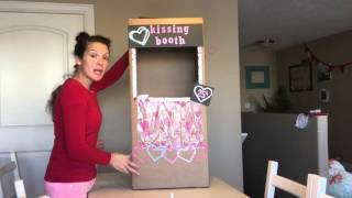 How to Make a Kissing booth in 15 minutes
