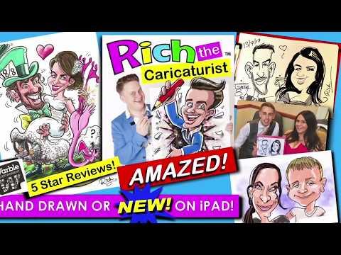 Rich The Caricaturist Video