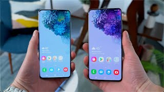 Samsung Galaxy S20 and Samsung Galaxy S20+ Hands On!