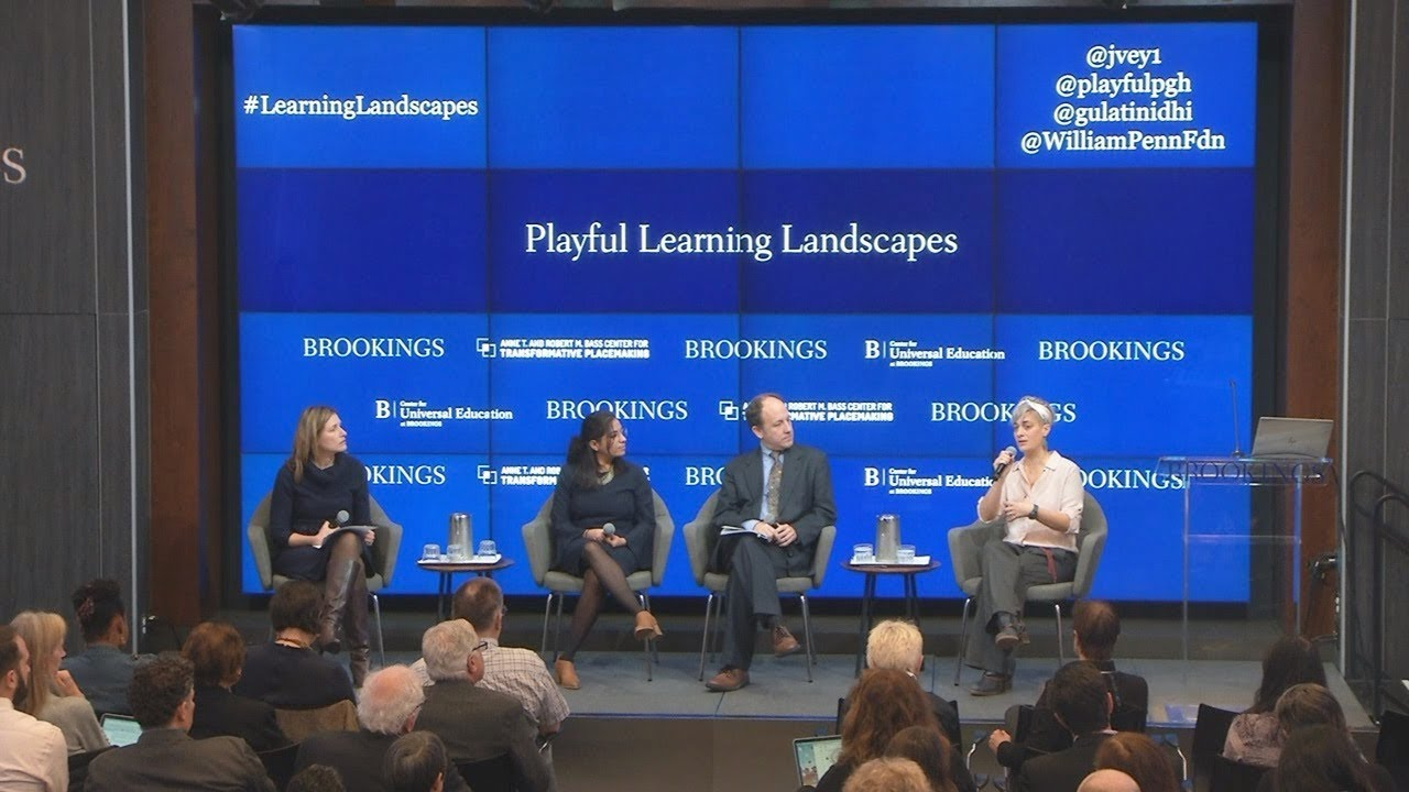 Panel 2: Reimagining neighborhoods to foster playful learning