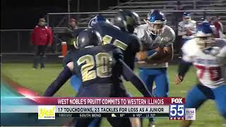 West Noble's Pruitt Commits to Western Illinois