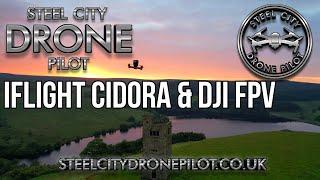 IFLIGHT Cidora first flight + DJI FPV + bloopers