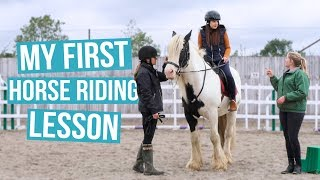 My First Horse Riding Lesson   Cherry Wallis