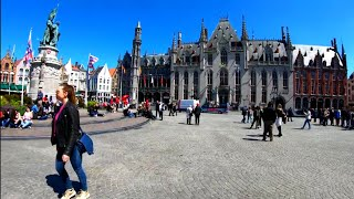 ⁴ᴷ Walking Around Bruges, Belgium (Brugge) 4K