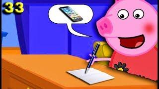 Свинка Пеппа пишет письмо Деду Морозу 33 серия