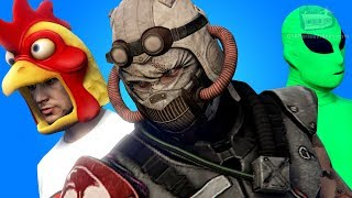 GTA Online: Arena War - All Clothes, Outfits and Masks (Male & Female)
