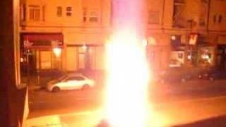 Socialist Action San Francisco Christmas Bonfire