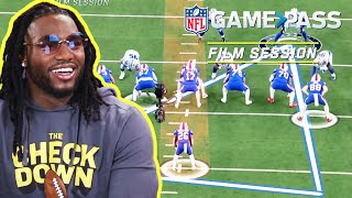 Jaylon Smith Breaks Down, Triangle Vision, Block Shedding, & the Run Game | NFL Film Session