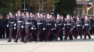 Cantec de catanie - cu elevii militari din Alba Iulia