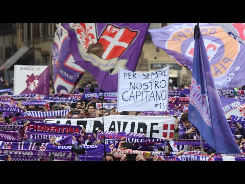 Thousands chant at Davide Astori's funeral: 'There's only one captain!'