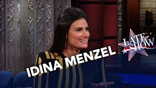 <b>Idina Menzel</b> Is A Fan Of Stephens Tweets