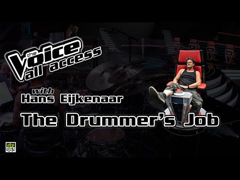 The Drummer's Job on The Voice | All Access with Hans Eijkenaar