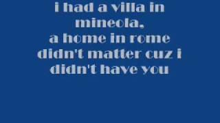 Jay Sean-If I Aint Got You w/ lyrics(: