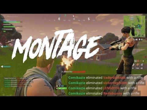 Fortnite Battle Royale - PVP Montage