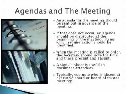 Secretary Training 20111024 - YouTube