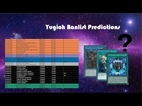 Download Banlist Predictions For January February 2019 Yu Gi Oh
