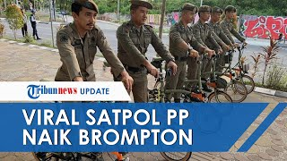 Viral Petugas Satpol PP Makassar Berfoto Pakai Sepeda Brompton Seharga Rp90 Juta, Ini Faktanya