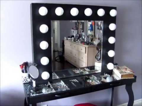 DIY Hollywood-Style Vanity: Mini Tour & What I Used to Build it