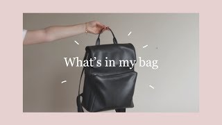 What's in my Backpack 2017 | College/University - Video Youtube