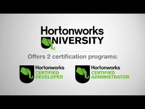 Hortonworks University Overview - YouTube
