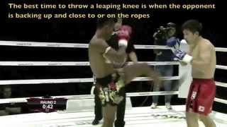 Buakaw: Clinch Entry, Exit & Knee Against Puncher