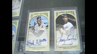 2011 Topps Gypsy Queen Baseball AUTOGRAPH COMPLETE SET of 44**Koufax Aaron SP's**