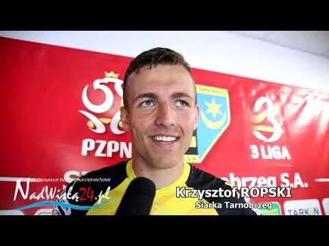 WIDEO: Krzysztof Ropski po meczu z Sokołem Sieniawa [WYPOWIEDŹ]