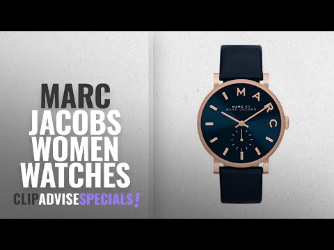 10 Best Selling Marc Jacobs Women Watches [2018 ]: Marc Jacobs Women's Quartz Watch with Blue Dial