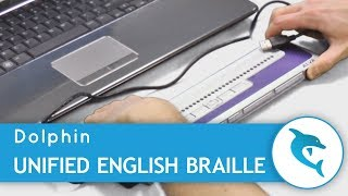 Unified English Braille - A Beginner's Guide from Dolphin