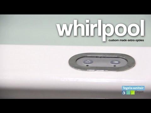 Ligbad Riho Lima 150 x 70 cm Whirlpool Dubbel systeem
