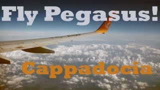 Flying Pegasus to Cappadocia, Turkey