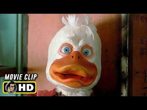 HOWARD THE DUCK (1986) A Bad Trip [HD] Lea Thompson