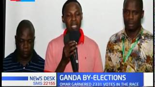 Blow to Aisha as Reuben Katana of ODM win Ganda ward by - election