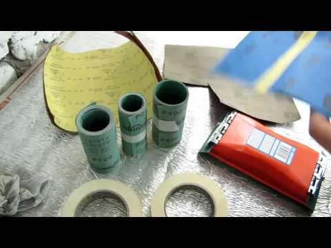 11☼ Основные виды наждачек, необходимые для покраски авто